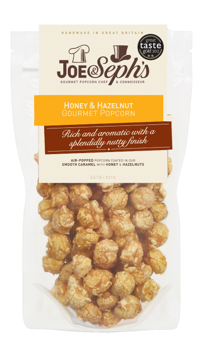 Honey and Hazelnut Popcorn Gourmet Popcorn