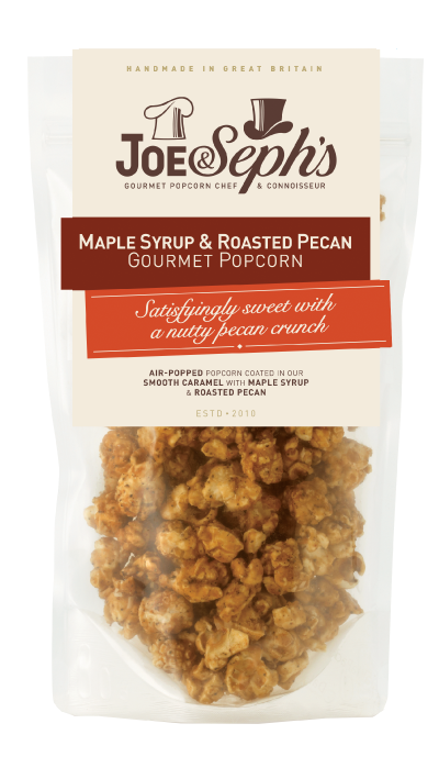 Maple Syrup & Roasted Pecan Popcorn Gourmet Popcorn